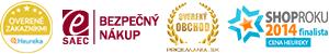Hej.sk - ocenenia a certifikáty
