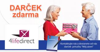 4LifeDirect.sk darček ZDARMA, akcia, zľava, kupón