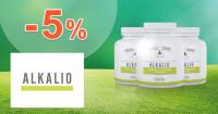 Alkalio.sk zľavový kód zľava -5%, kupón, akcia