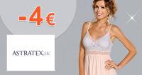 Astratex.sk zľavový kód zľava -4€, kupón, akcia
