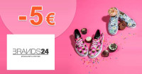 Brands24.sk zľavový kód zľava -5€, kupón, akcia