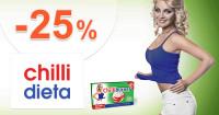 ChilliDieta.sk zľavový kód zľava -25%, kupón, akcia