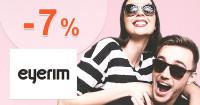 Eyerim.sk zľavový kód zľava -7%, kupón, akcia