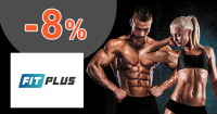 FitPlus.sk zľavový kód zľava -8%, kupón, akcia