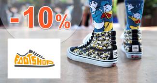 FootShop.sk zľavový kód zľava -10%, kupón, akcia