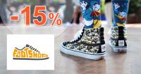 FootShop.sk zľavový kód zľava -15%, kupón, akcia