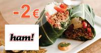 Ham.sk zľavový kód zľava -2€, kupón, akcia