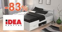 IDEA-nabytok.sk zľavový kód zľava -83%, kupón, akcia