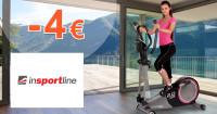 inSPORTline.sk zľavový kód zľava -4€, kupón, akcia