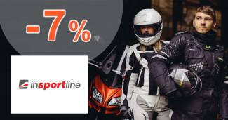 inSPORTline.sk zľavový kód zľava -7%, kupón, akcia