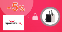 Krasavica.sk zľavový kód zľava -5%, kupón, akcia