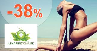LekarenDoma.sk zľavový kód zľava -38%, kupón, akcia