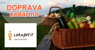Lokapetit.sk doprava zadarmo, akcia, zľava, kupón