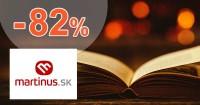 Martinus.sk zľavový kód zľava -82%, kupón, akcia