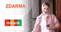 mBank mKonto zdarma, bez poplatkov, kupón, akcia
