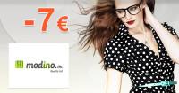 Modino.sk zľavový kód zľava -7€, kupón, akcia