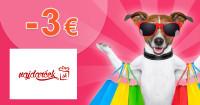 NajDarcek.sk zľavový kód zľava -3€, kupón, akcia