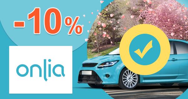 Onlia.sk zľavový kód zľava -10%, kupón, akcia