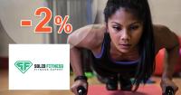 Solid-fitness.sk zľavový kód zľava -2%, kupón, akcia