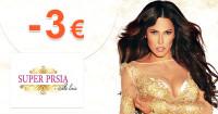 SuperPrsia.sk zľavový kód zľava -3€, kupón, akcia