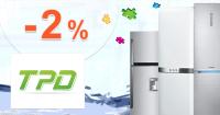 TPD.sk zľavový kód zľava -2€, kupón, akcia