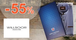 Willsoor.sk zľavový kód zľava -55%, kupón, akcia