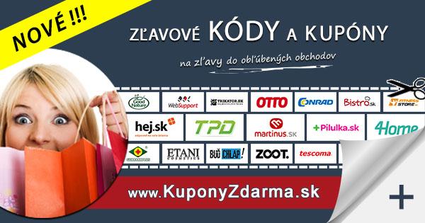 www.KuponyZdarma.sk