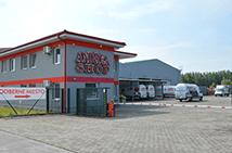 AndreaShop.sk odberné miesto Malé Dvorníky