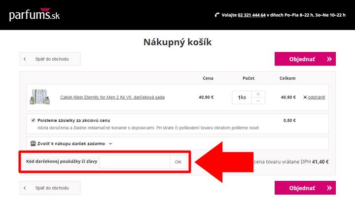 Ako uplatniť zľavový kód na Notino.sk
