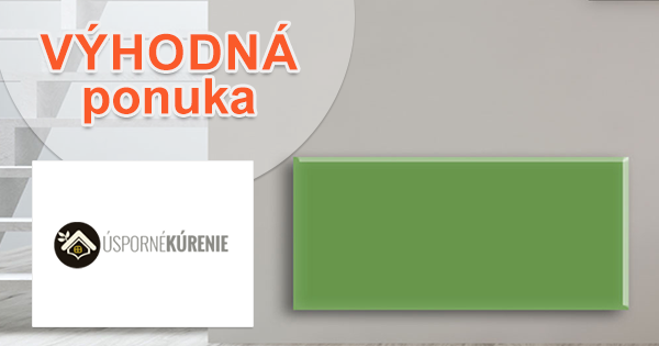 Infrakúrenie s úsporou 30% na Usporne-Kurenie.sk