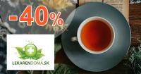 Čaje a káva až -40% zľavy na LekarenDoma.sk