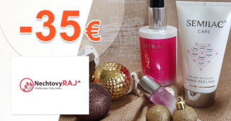 Mega zľavy a akcie až -35€ na NechtovyRaj.sk