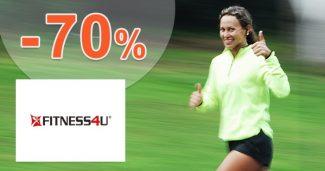 Výpredaj až -70% zľavy a akcie na Fitness4u.sk
