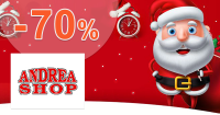 Špeciálne vianočné zľavy až -70% na AdreaShop.sk