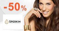 Šperky v akcii so zľavou 30% až 50% na Sperkin.cz