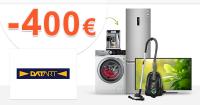 Šrotovné -400€ na vybrané spotrebiče na Datart.sk