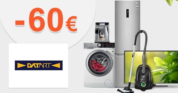 Šrotovné -60€ na kávovary a roboty na Datart.sk