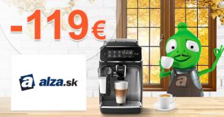 Šrotovné na kávovary až -199€ zľava na Alza.sk