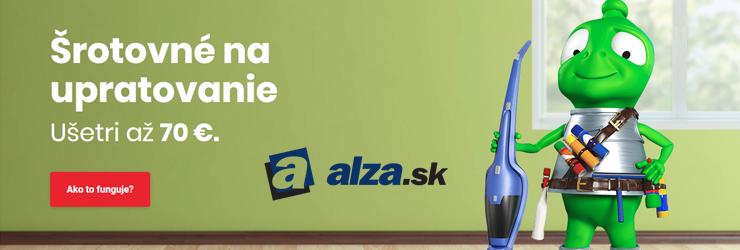 Šrotovné na upratovanie na Alza.sk