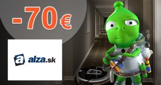 Šrotovné na upratovanie so zľavou -70€ na Alza.sk