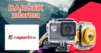 4K outdoorová kamera zadarmo na insportline.sk
