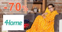 4Home.sk zľavový kód zľava -70%, kupón, akcia, výpredaj, zľavy, bytové doplnky