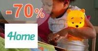 4Home.sk zľavový kód zľava -70%, kupón, akcia, výpredaj, zľavy, darčeky a hračky