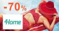 4Home.sk zľavový kód zľava -70%, kupón, akcia, výpredaj, zľavy, krása a zdravie
