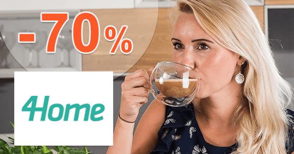 4Home.sk zľavový kód zľava -70%, kupón, akcia, výpredaj, zľavy, doplnky do kuchyne