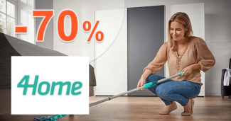 4Home.sk zľavový kód zľava -70%, kupón, akcia, výpredaj, zľavy, upratovanie