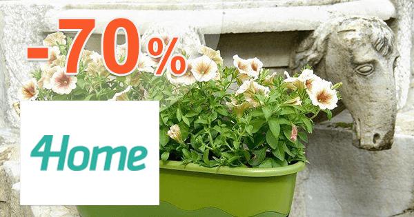 4Home.sk zľavový kód zľava -70%, kupón, akcia, výpredaj, zľavy, záhrada a hobby