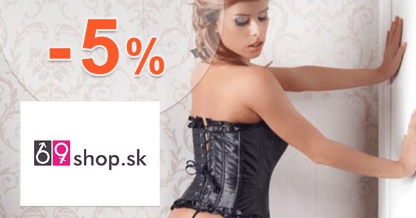69shop.sk zľavový kód zľava -5%, kupón, akcia