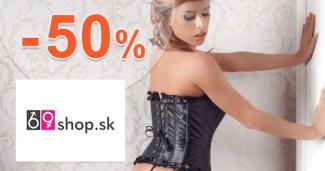 69shop.sk zľavový kód zľava -50%, kupón, akcia, akcie, zľavy, výpredaj