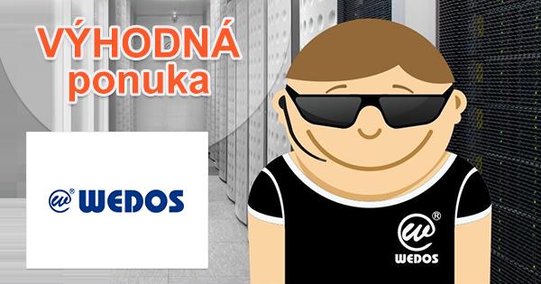 Až 2 roky hostingu ZDARMA pri prechodu k Wedos